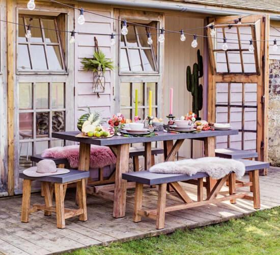 Alfresco entertaining: our top tips for hosting in your garden