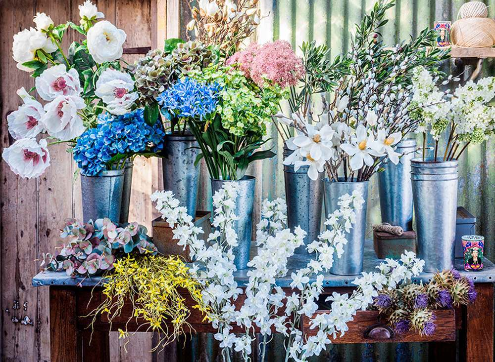 Faux Flowers and Plants
