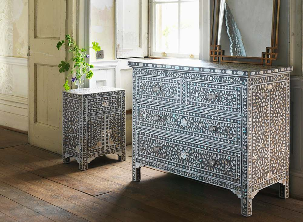 mother of pearl inlay furniture | graham & green