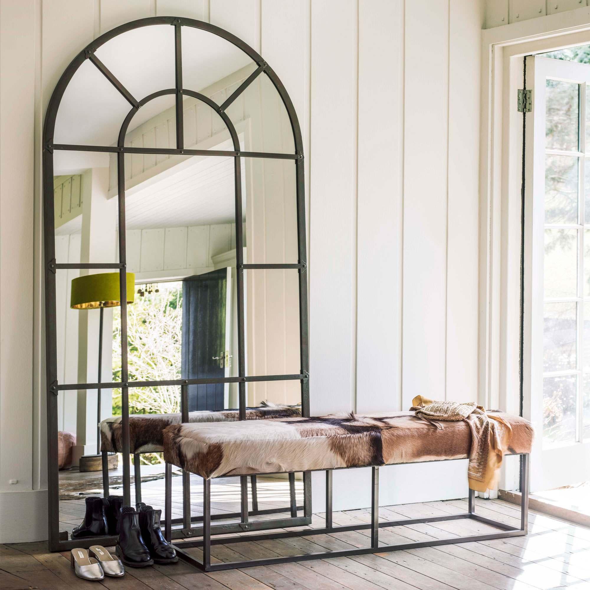 Large Window Pane Mirror Graham Green