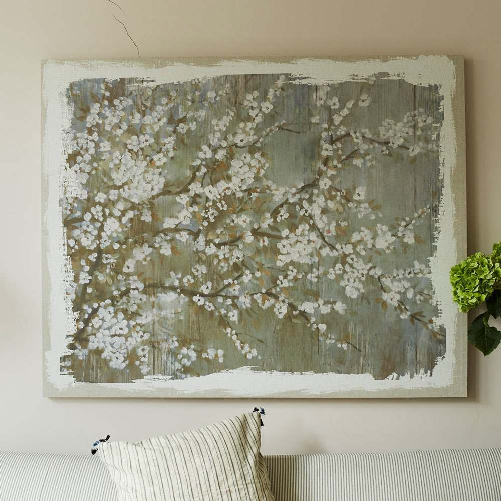 Apple Blossom Canvas