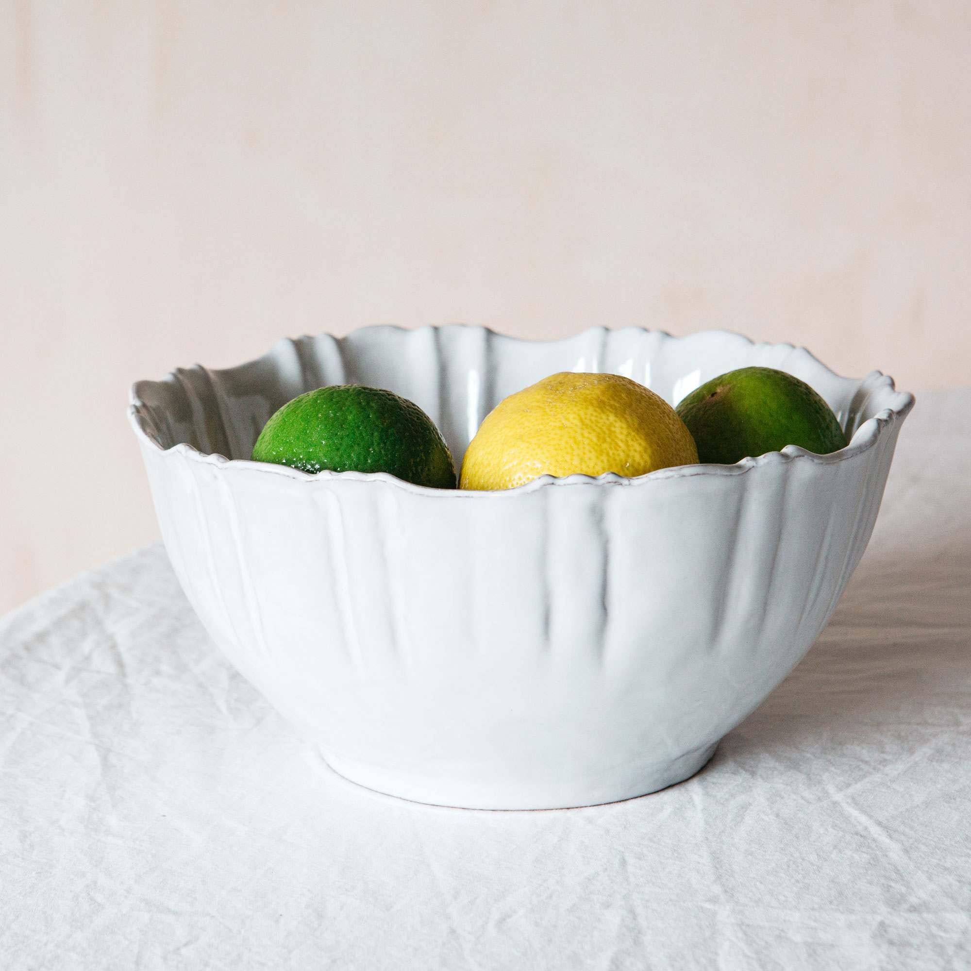 Amelie Scallop Large Bowl