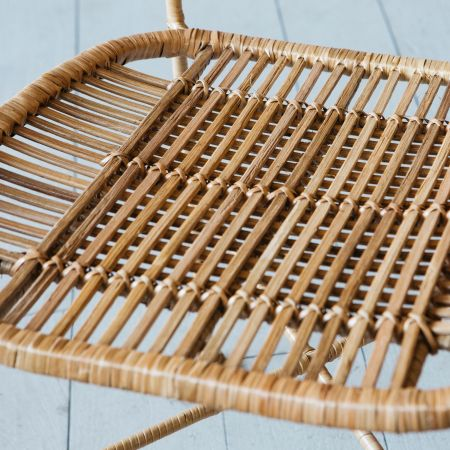Ola Graphic Weave Rattan Chair