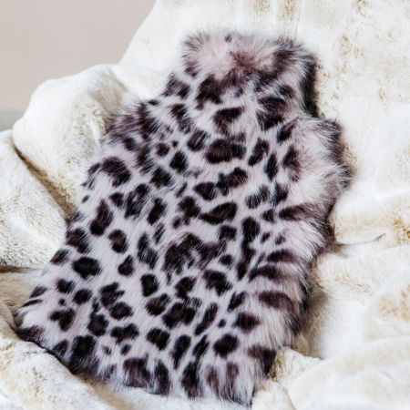 Leopard Print Hot Water Bottle