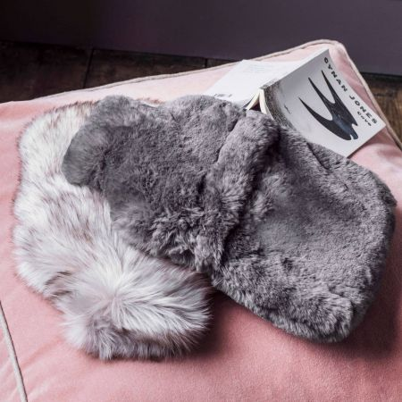 Faux Fur Hot Water Bottles - Thumbnail
