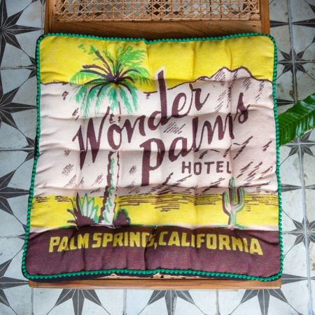 Palm Springs Matchbox Seat Pad