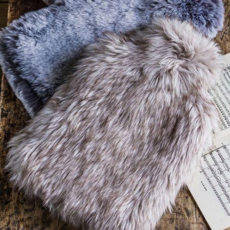 Siberian Wolf Hot Water Bottle - Thumbnail