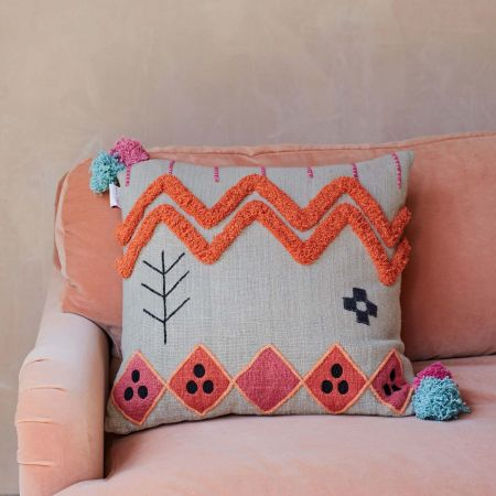 Kirra Tribal Cushion