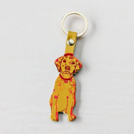 Ochre Dog Keyring