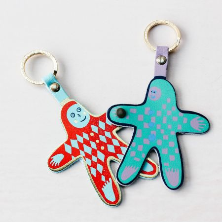 Friends Double Keyring