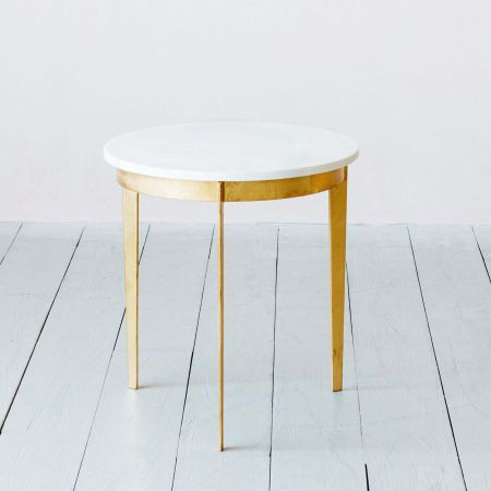 Malique Marble Side Table