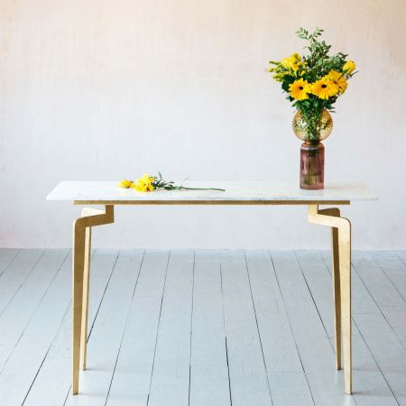 Malique Marble Console Table