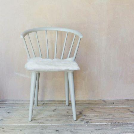 Ivory Sheepskin Seat Pad