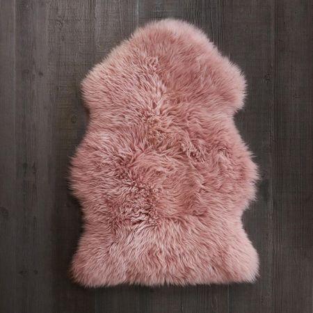 Rose Pink Sheepskin
