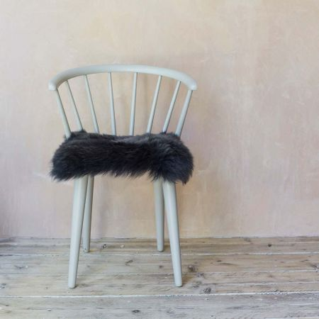 Steel Sheepskin Seat Pad