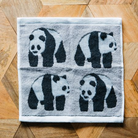 Panda Face Cloth