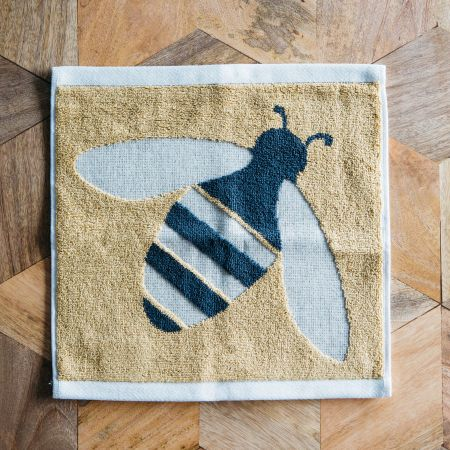 Yellow Bee Face Cloth