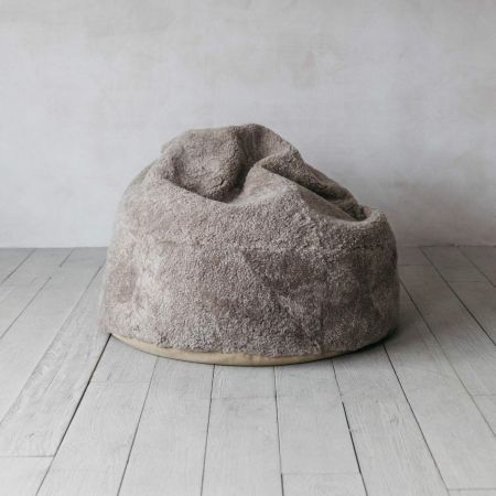 Curly Sheepskin Beanbags