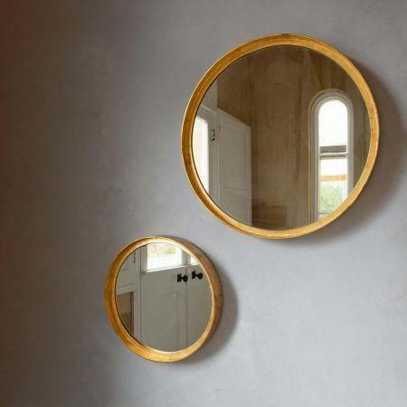 Round Gold Mirrors