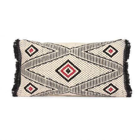 Imari Rectangular Cushion with Tassels