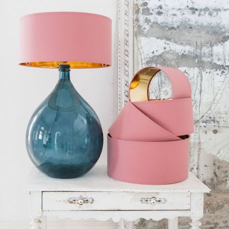 Dusty Rose Lamp Shades