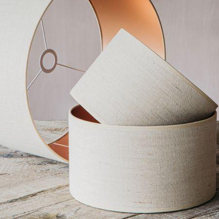 Natural Linen Lamp Shades