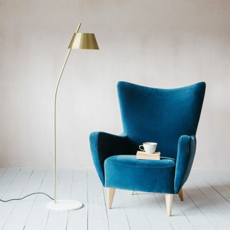 Kari Brass Floor Lamp