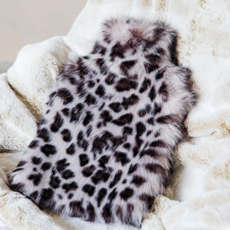 Gold Leopard Hot Water Bottle