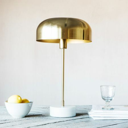 Morel Brass Table Lamp