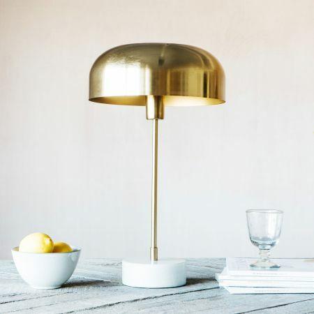 Morel Brass Table Lamp