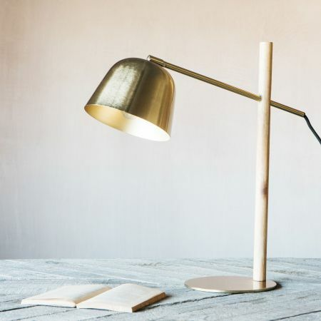 Cooper Brass Table Lamp