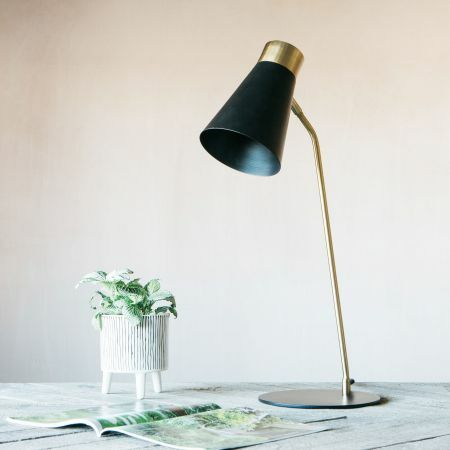Chase Black Table Lamp