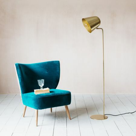 Rowan Brass Floor Lamp