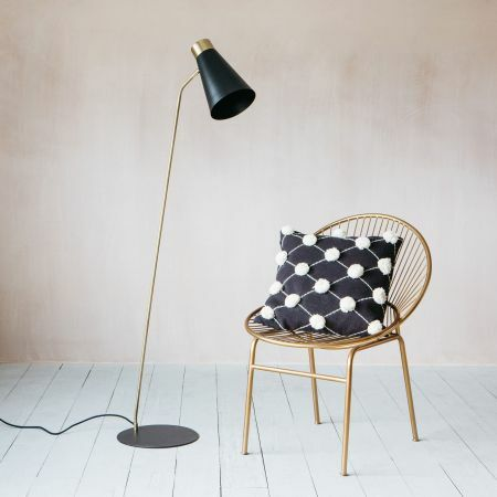 Chase Black Floor Lamp