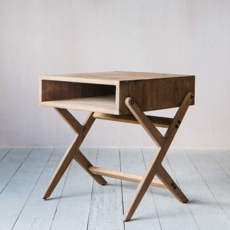 Montague Pine Side Table