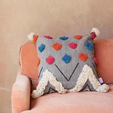Yani Tribal Cushion