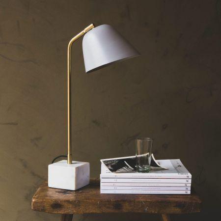 Olsen Grey Table Lamp