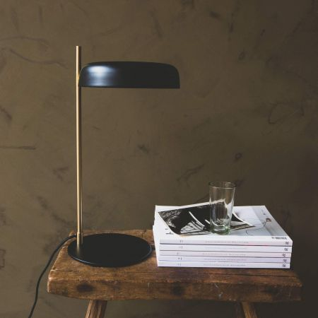 Torsten Black Table Lamp
