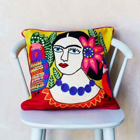 Mexicana Yellow Cushion
