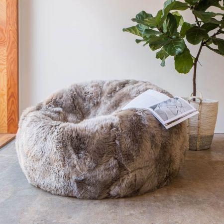 Extra Large Longhair Vole Beanbag