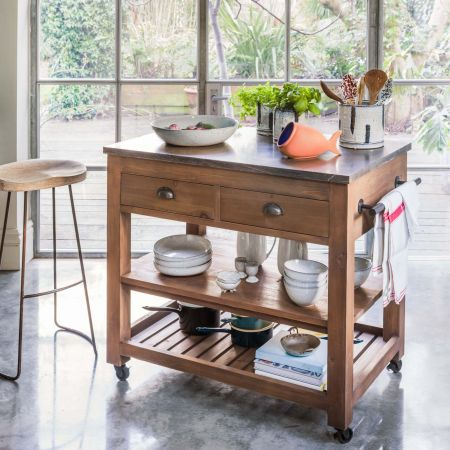 Hudson Small Kitchen Island