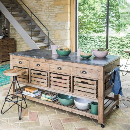 Hudson Kitchen Island