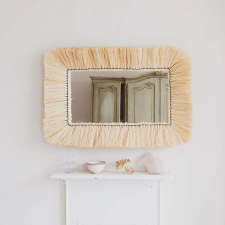 Kula Grass Rectangular Mirror