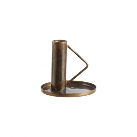 Triangle Handle Candle Holder