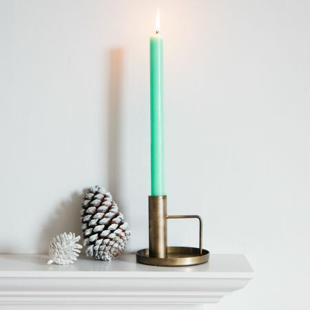 Square Handle Candle Holder