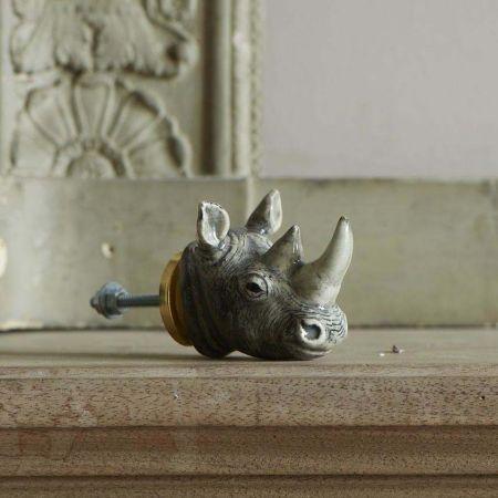 Rhino Head Knob