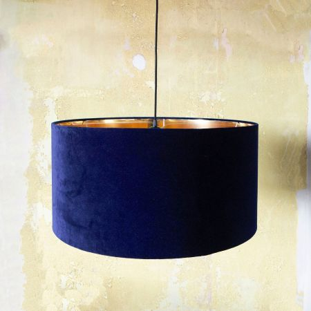 Midnight Velvet Pendant Shade