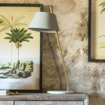 Kari Grey Table Lamp