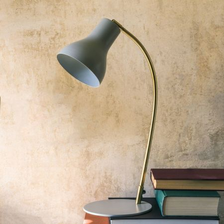 Anders Grey Table Lamp