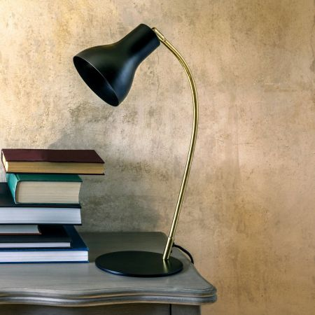 Anders Black Table Lamp
